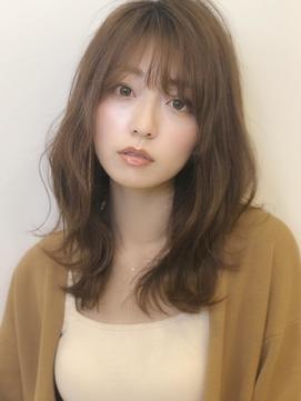 《Agu hair》肌までキレイに見える◎ふんわりレイヤー