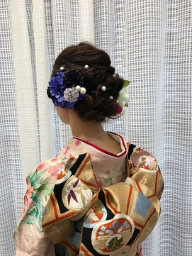渋谷駅近 着付室完備 成人式・卒業式・七五三も