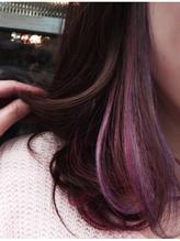 春色インナーカラー   ベビーピンク*ラベンダーmix♪ 春色.6
