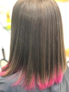 今話題のイルミナカラー¥7200~♪イルミナカラーが創り上げる外国人風カラーで透明感とツヤのある髪色へ!