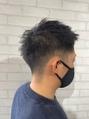 【メンズスタイル】刈り上げベリーショートヘア(VISILL秋葉原店)