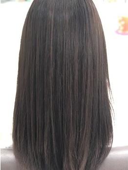 扱いやすい美髪に大変身♪【カット+スリムトリートメント¥6400~】【カット+縮毛矯正¥10000~】