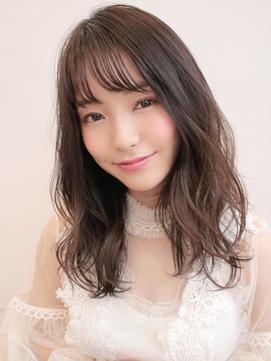 《Agu hair》艶×ヌーディー無造作ミディ