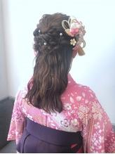 卒業式袴ヘアセット♪ .21