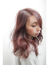 【kamiya】ツヤ感☆ピンクベージュ ヘアアイロン.43