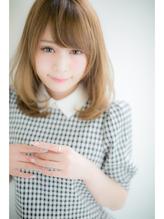 【Euphoria】最高に可愛くするミルクティーカラー☆姫カット☆N2 前髪パーマ.35