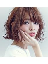 *春色ベージュ☆ワイドバング愛されカールボブ♪【鈴木嵩平】 春色.56