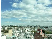 開放感の個室 自由が丘の街から東京タワー スカイツリーまで一望
