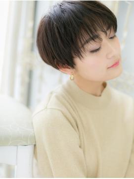 *CUORE新松戸*…モード&クールな黒髪ベリーショートb
