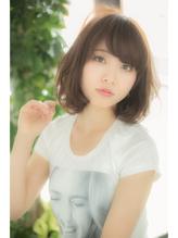 【Euphoria】大人カワイイ☆ナチュラルリラックスボブ☆ 前髪パーマ.42