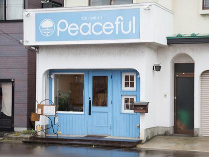 ヘアサロン ピースフル(hair salon Peaceful) image