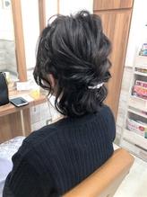 ゆるふわ☆大人可愛い ハーフアレンジ☆【Grapevine 新小岩】.25