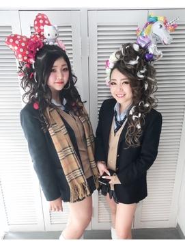 高校生卒業式ヘアセット¥5500