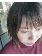 ザックリシースルー前髪★.0
