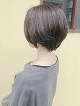 【melt】30、40代に人気!ハンサムショート☆ひし形ショート小顔.56
