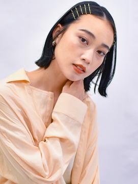【eha】美シルエット_外ハネショートボブ