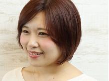 オトナ女性が注目☆素髪でもカワイイ!ナチュラルスタイルに定評あり♪顔周りのデザインで小顔効果も◎