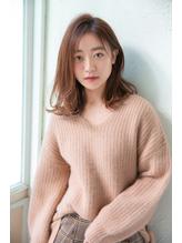 【Un ami】はねても可愛いカジュアルなミディアム 工藤 由佳.1