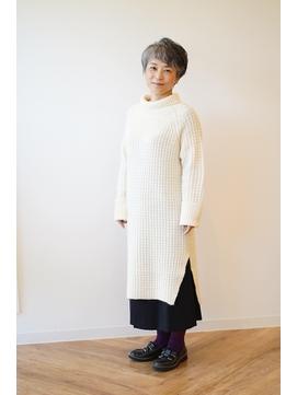 【えがお美容室】50代60代にオススメ☆柔らかナチュラルショート