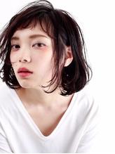 【M.SLASH】アシンメトリーなふわくしゅミディa .48