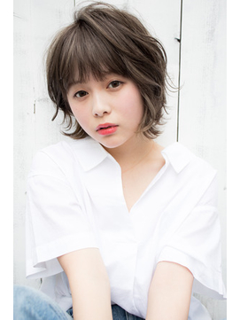 【EIGHT new hair style】甘めバング★ナチュラルショート