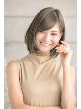 大人かわいい 前下がり ひし形 ボブ 【MINX石塚】.31