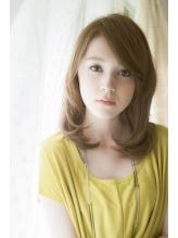 美香さん風髪型 ヌーディミディ×秋色 マロンベージュヘア 秋色.31