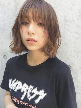 【Soup'e  糸井 俊介】外ハネ質感パーマ