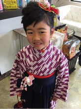 袴 卒園式.44