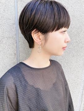 【December】黒髪 マニッシュショート アッシュブラウン♪