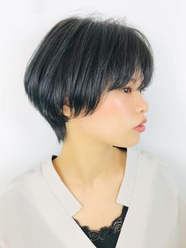 黒髪大人ショート【RENJISHI】