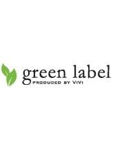 グリーンレーベルプロデュースドバイビビ(green label  PRODUCED BY ViVi)
