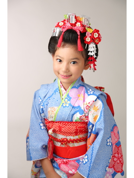 七五三7歳の上品キレイな新日本髪★
