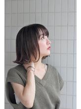 【cieloチェーロ西荻窪駅】切りっぱなし外ハネボブ.13