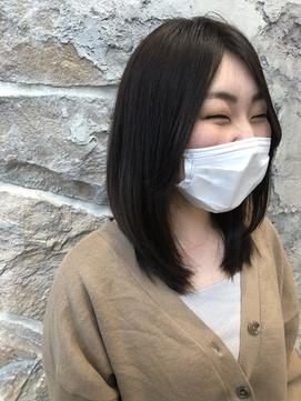 【楽チンスタイリング】小顔レイヤースタイル