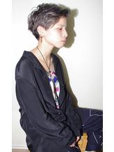 【micca下北沢】グレージュ×ツーブロック刈り上げ女子 .32
