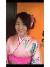 生花プリティー花ヘアー .17