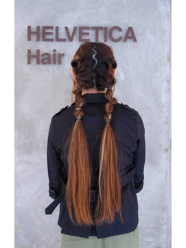 [helvetica hair]*ボヘミアンアレンジ*[島村知世]