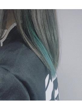【Merci】鬼滅の刃風カラー!時透無一郎スモーキーミント