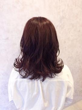 モテ髪パーマセミロング♪【OAK 博多店】