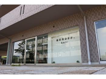 ボーダーヘア(BORDER HAIR)