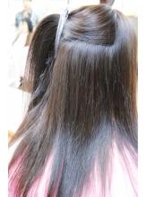 営業ビフォーアフター、ツブツブ髪をサラサラに縮毛矯正 中学生.46