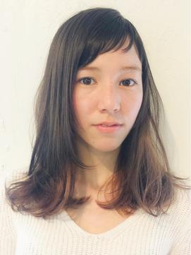 プチ前髪ミディアム☆