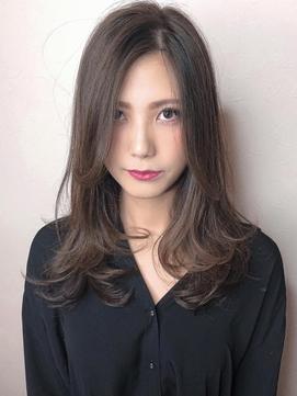 ローレイヤー×グレージュカラー 犬塚優介