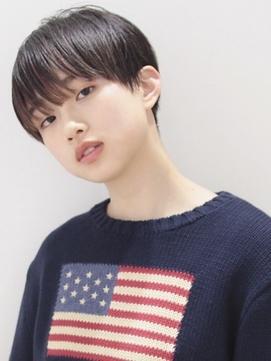 ナチュラルマッシュ☆#前髪#ラベンダーカラー#イメチェン