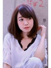大泉学園【Omorfi】 大人可愛い★斜めバング小顔ボブ.29