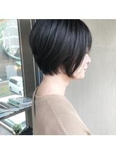 【BEER  山崎雄太朗】お客様hair×大人世代もきまるショートボブ.6