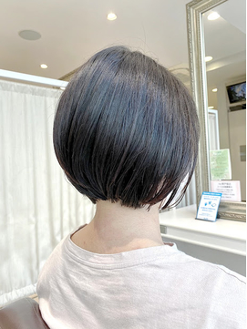 髪質改善ストレート ショートボブ