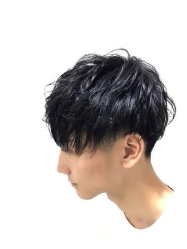 メンズマッシュ2セクション【溝口髪質改善オージュアサロン】