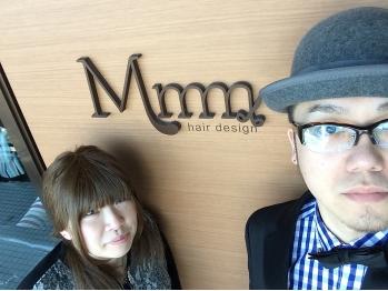 ヘアデザイン ムゥ(hair design Mmm)